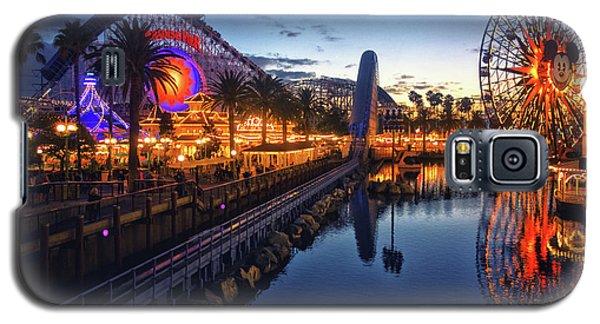 Paradise Pier Sunset Galaxy S5 Case