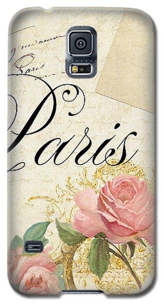 Parchment Paris - Timeless Romance Galaxy S5 Case