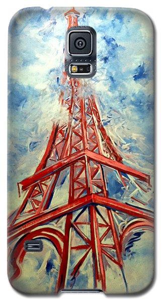 Paris Backdrop Galaxy S5 Case