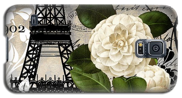 Paris Blanc I Galaxy S5 Case by Mindy Sommers