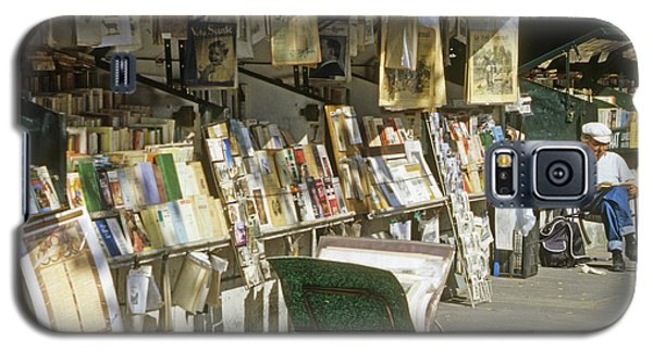 Paris Bookseller Stall Galaxy S5 Case