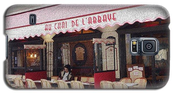 Paris Cafe 1 Galaxy S5 Case