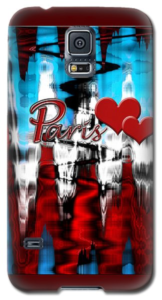 Galaxy S5 Case featuring the photograph Paris by Cherie Duran