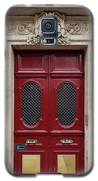 Galaxy S5 Case featuring the photograph Paris Doors No. 17 - Paris, France by Melanie Alexandra Price