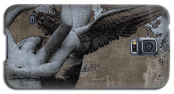 Paris Eros And Psyche - Surreal Romantic Angel Louvre   - Eros And Psyche - Cupid And Psyche Galaxy S5 Case
