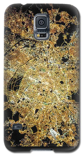 Galaxy S5 Case featuring the photograph Paris From Space by Delphimages Photo Creations