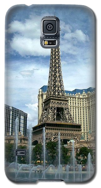 Paris Hotel And Bellagio Fountains Galaxy S5 Case