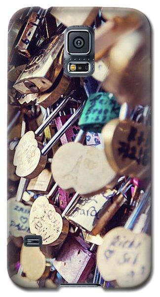 Paris Love Locks Galaxy S5 Case by Melanie Alexandra Price