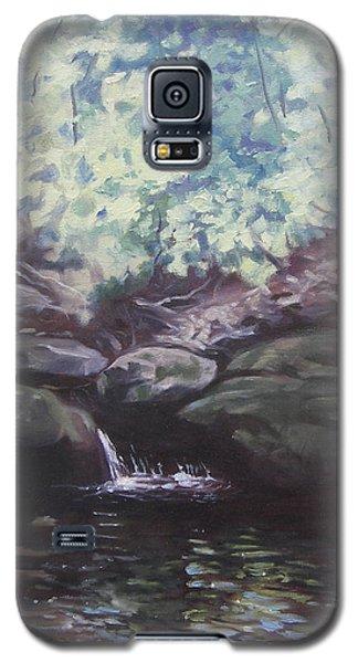 Paris Mountain Waterfall Galaxy S5 Case