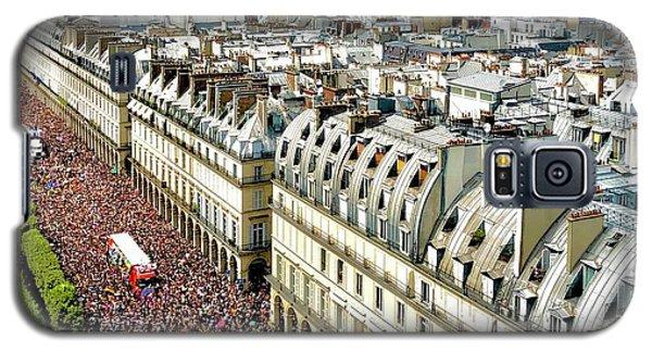 Paris Pride March 2018 Galaxy S5 Case