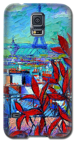Paris Rooftops - View From Printemps Terrace   Galaxy S5 Case