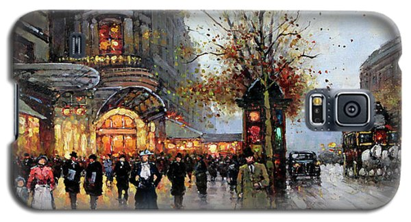 Paris Street Scene Galaxy S5 Case