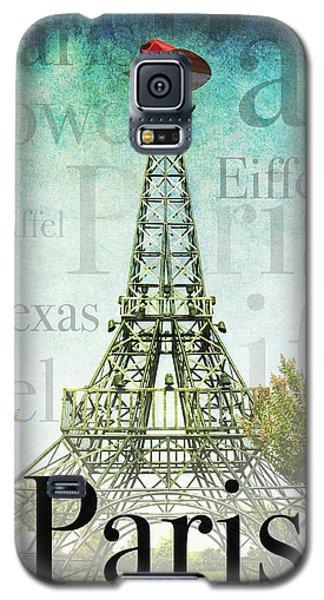 Paris Texas Style Galaxy S5 Case