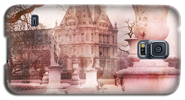 Paris Tuileries Park Garden - Jardin Des Tuileries Garden - Paris Tuileries Louvre Garden Sculpture Galaxy S5 Case by Kathy Fornal