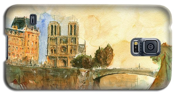 Paris Watercolor Galaxy S5 Case