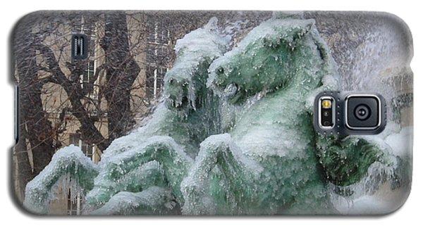 Paris Winter Galaxy S5 Case