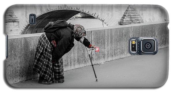 Parisian Beggar Lady Galaxy S5 Case