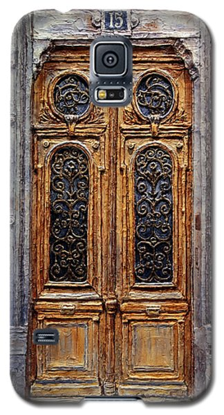 Parisian Door No. 15 Galaxy S5 Case by Joey Agbayani