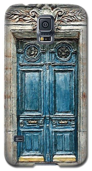 Parisian Door No. 3 Galaxy S5 Case by Joey Agbayani