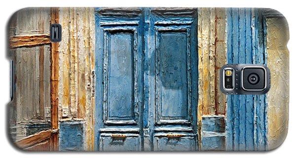 Parisian Door No.36 Galaxy S5 Case by Joey Agbayani
