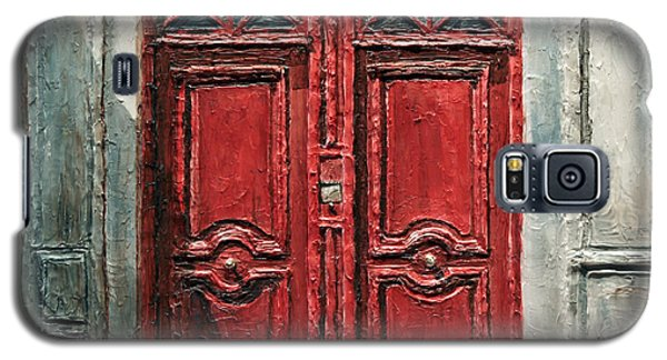 Parisian Door No.9 Galaxy S5 Case by Joey Agbayani