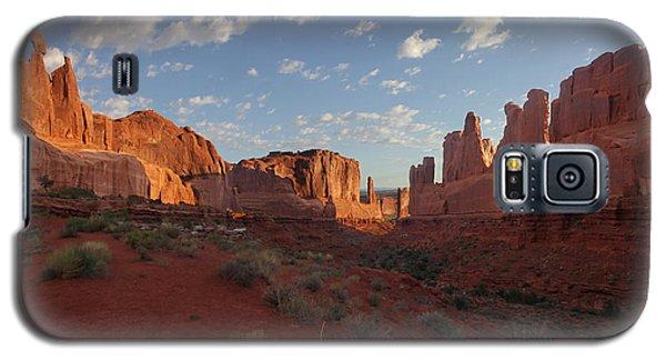 Park Avenue Arches National Park Galaxy S5 Case