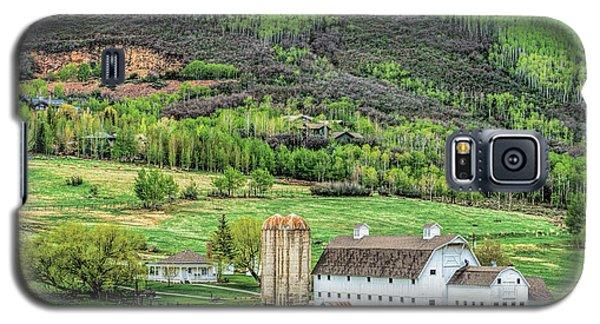 Park City Utah Barn Galaxy S5 Case