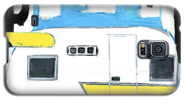 Park It-yellow Galaxy S5 Case