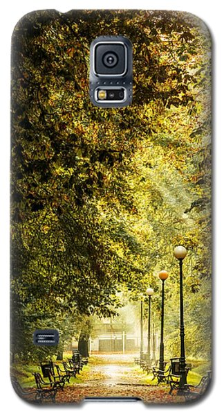 Park Lane Galaxy S5 Case by Jaroslaw Grudzinski