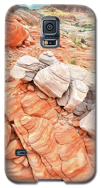 Galaxy S5 Case featuring the photograph Park Road Sandstone In Valley Of Fire by Ray Mathis