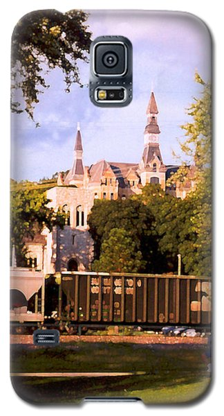 Galaxy S5 Case featuring the photograph Park University by Steve Karol