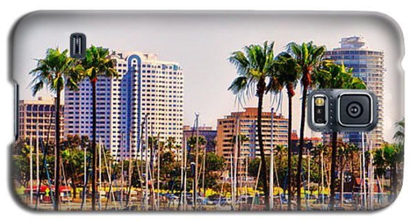 Parking And Palms In Long Beach Galaxy S5 Case