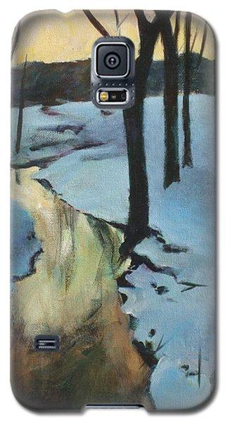 Parlee Farm Sunset Creek Galaxy S5 Case