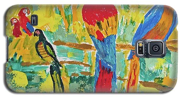 Parrots Galaxy S5 Case