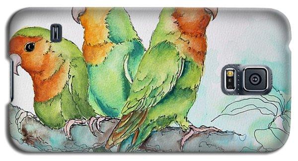 Parrots Trio Galaxy S5 Case