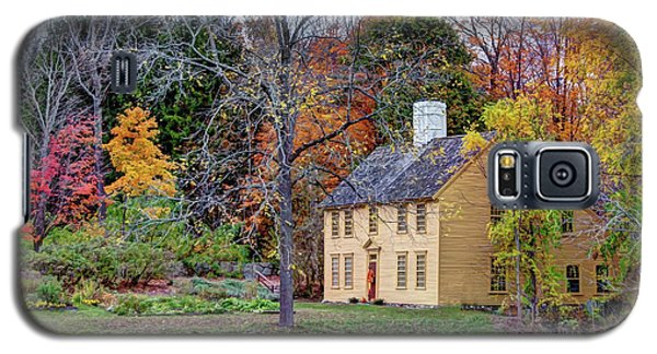 Parson Barnard House In Autumn Galaxy S5 Case