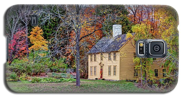 Parson Barnard House In Autumn Galaxy S5 Case