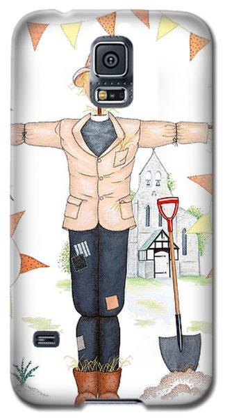 Parson Scarecrow Galaxy S5 Case by Sandra Moore
