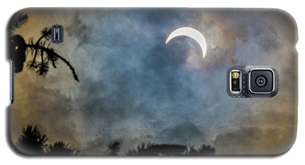 Galaxy S5 Case featuring the photograph Partial Eclipse 2017 by Bill Pevlor
