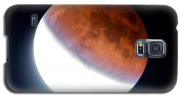 Galaxy S5 Case featuring the photograph Partial Super Moon Lunar Eclipse by Todd Kreuter
