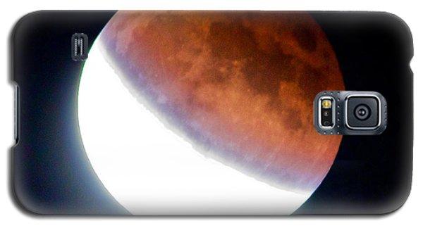 Partial Super Moon Lunar Eclipse Galaxy S5 Case by Todd Kreuter