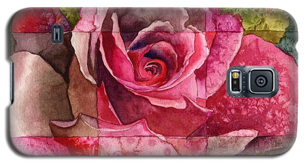 Partitioned Rose IIi Galaxy S5 Case