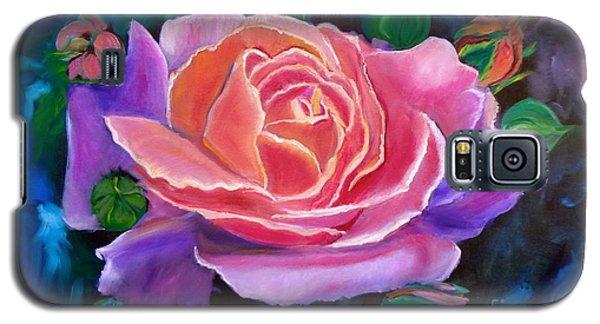 Gala Rose Galaxy S5 Case by Jenny Lee