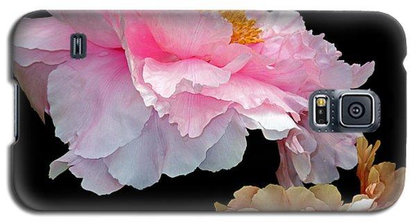 Pas De Deux Glowing Peonies Galaxy S5 Case