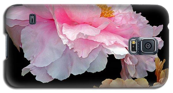 Pas De Deux Glowing Peonies Galaxy S5 Case