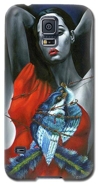 Pasion Por La Costumbre Galaxy S5 Case by Jorge L Martinez Camilleri