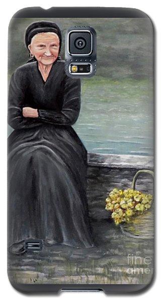 Pasqualina Di Scanno Galaxy S5 Case by Judy Kirouac