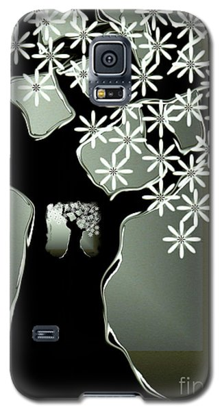 Galaxy S5 Case featuring the digital art Passages by Misha Bean