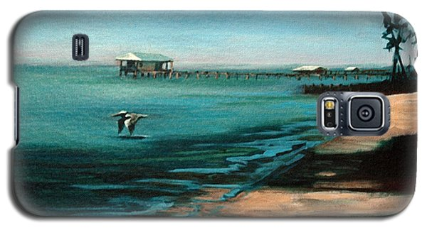 Galaxy S5 Case featuring the painting Passing By Again by Suzanne McKee