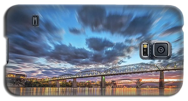Passing Clouds Above Chattanooga Galaxy S5 Case